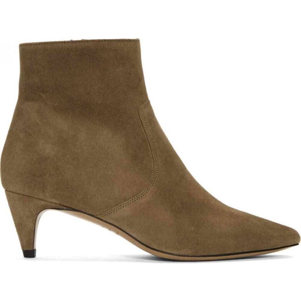 イザベル マラン Isabel Marant レディース ブーツ シューズ・靴【Taupe Suede Derst Boots】Taupe