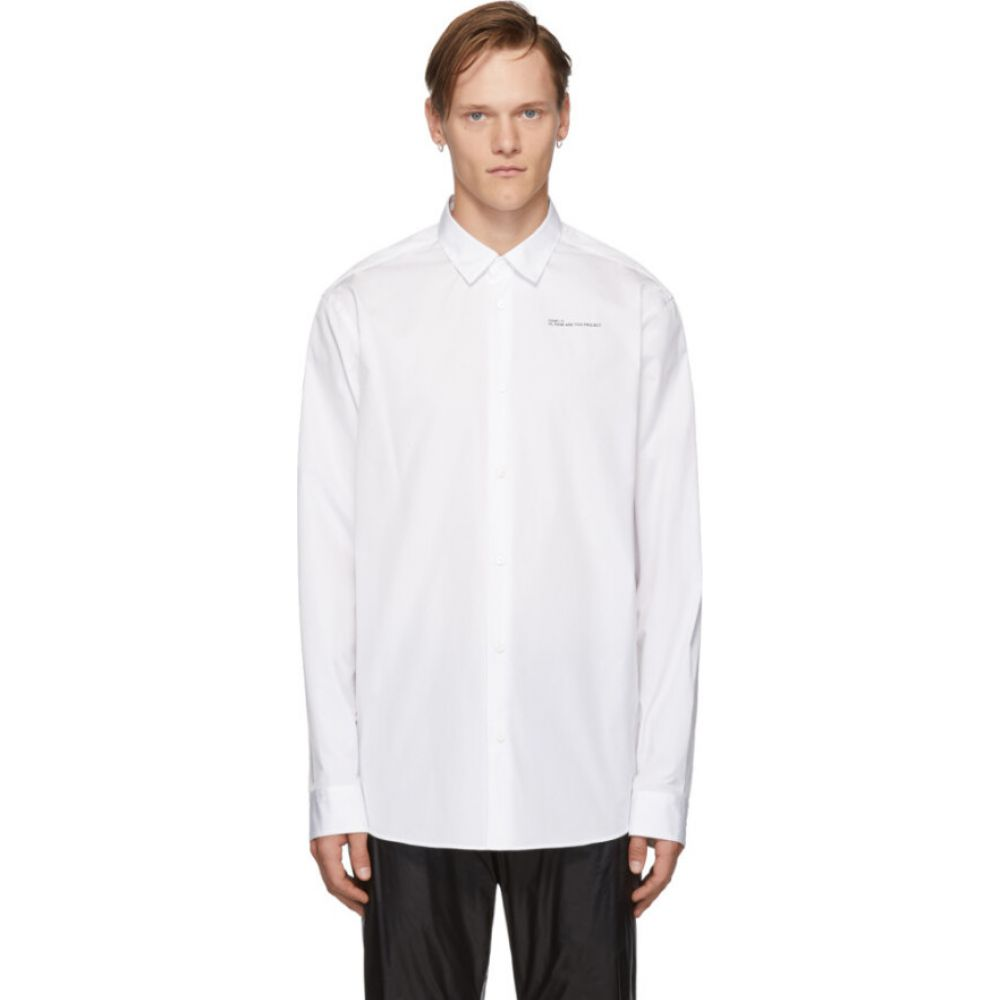 オーエーエムシー OAMC メンズ シャツ トップス【White 'How Are You Now' Shirt】White