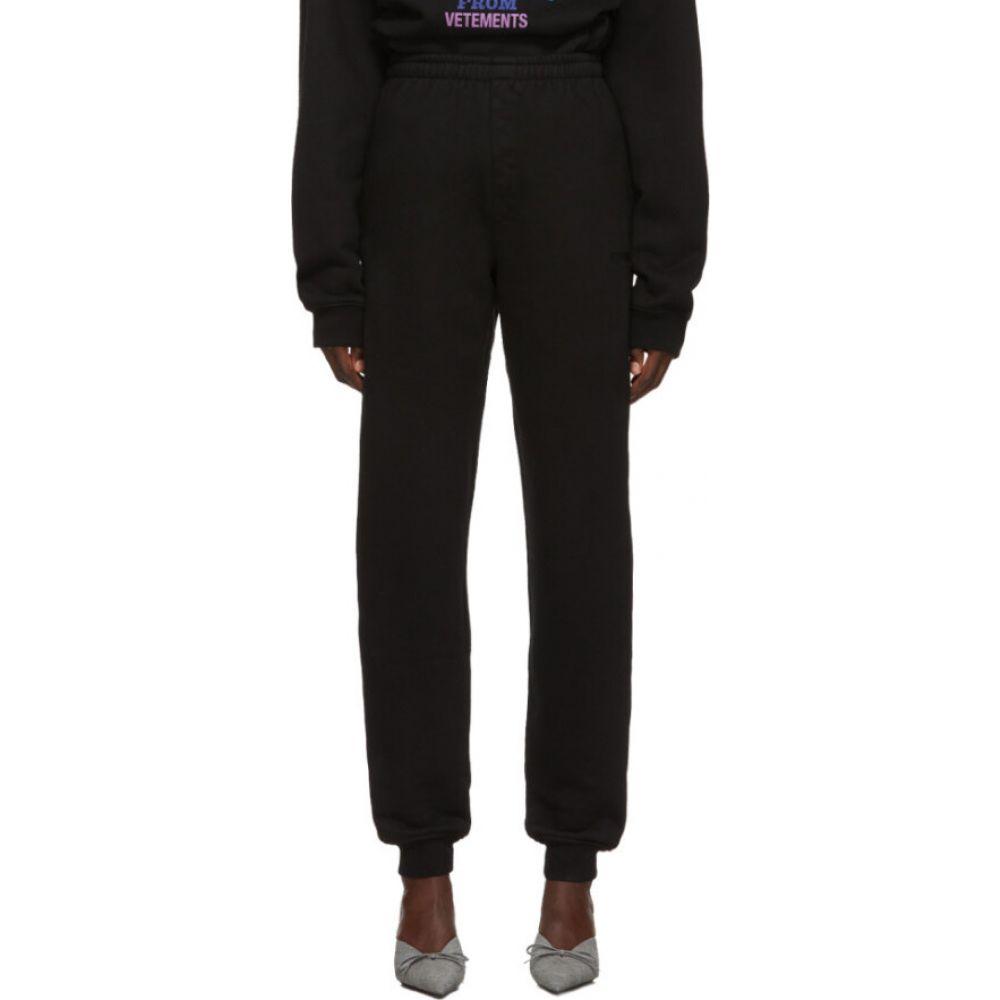 ヴェトモン VETEMENTS レディース ボトムス・パンツ 【Black New Classic Lounge Pants】Black