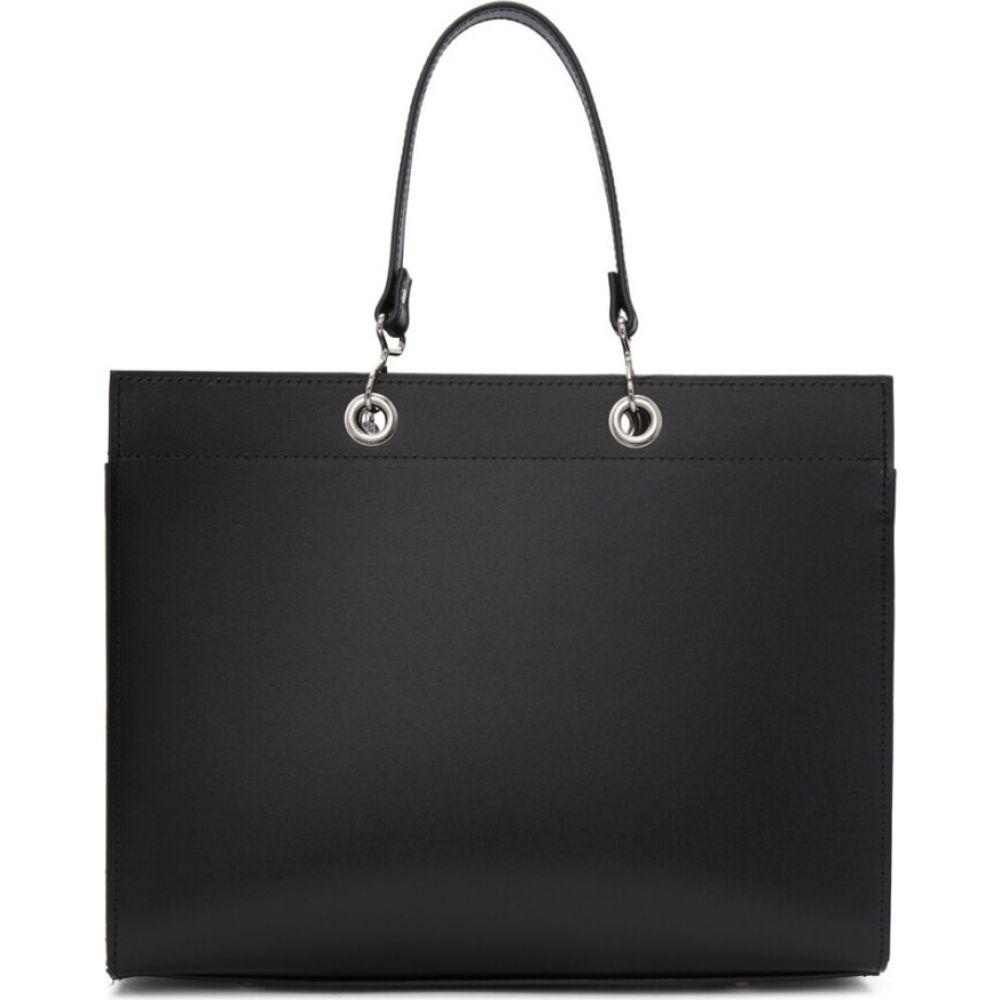 コム デ ギャルソン Comme des Garcons Comme des Garcons レディース トートバッグ バッグ【Black Recycled Leather Large Tote】Black