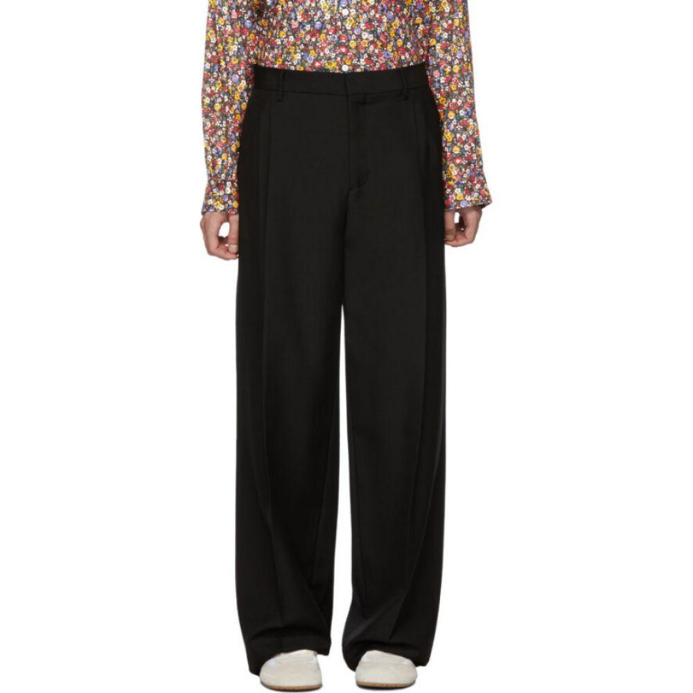 ロエベ Loewe メンズ ボトムス・パンツ 【Black Pleated Trousers】Black