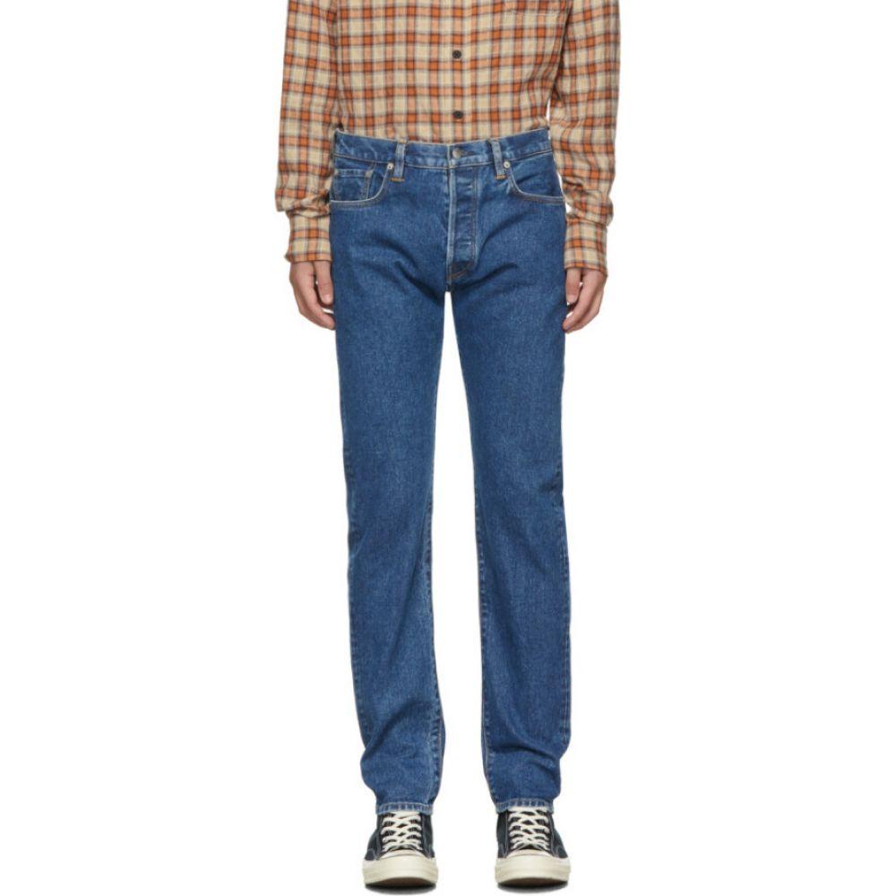 サイモンミラー Simon Miller メンズ ジーンズ・デニム ボトムス・パンツ【Blue Narrow Jeans】Mid indigo
