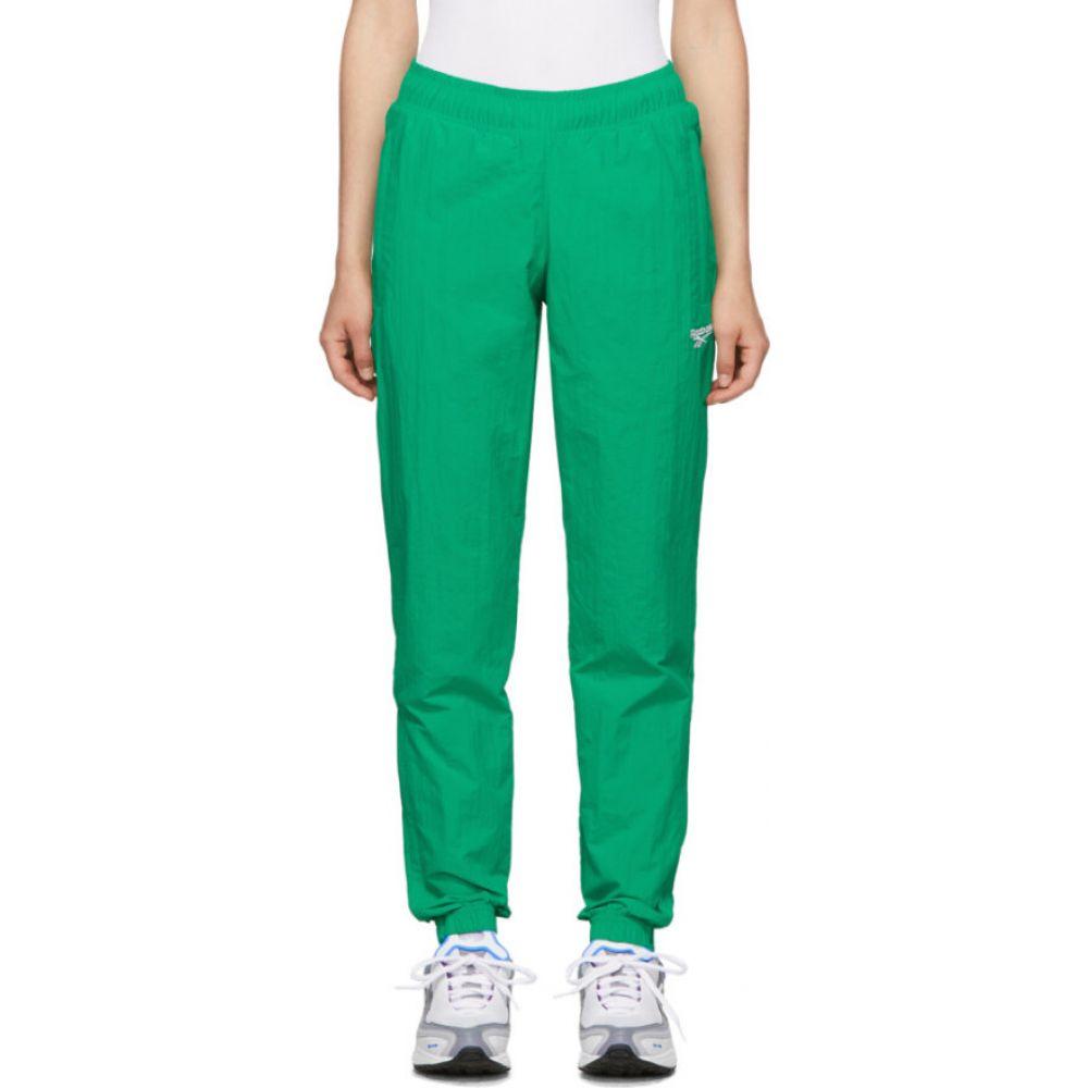 リーボック Reebok Classics レディース スウェット・ジャージ ボトムス・パンツ【Green Classics Vector Track Pants】Emerald