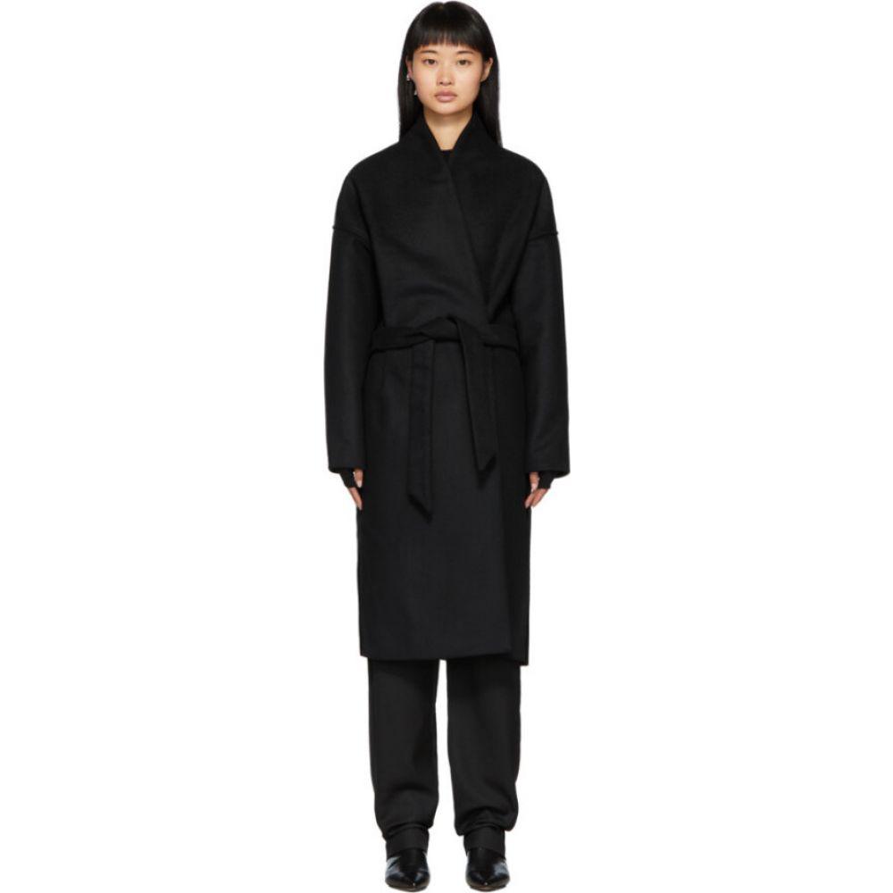 トーテム Toteme レディース コート アウター【Black Chelsea Coat】Black