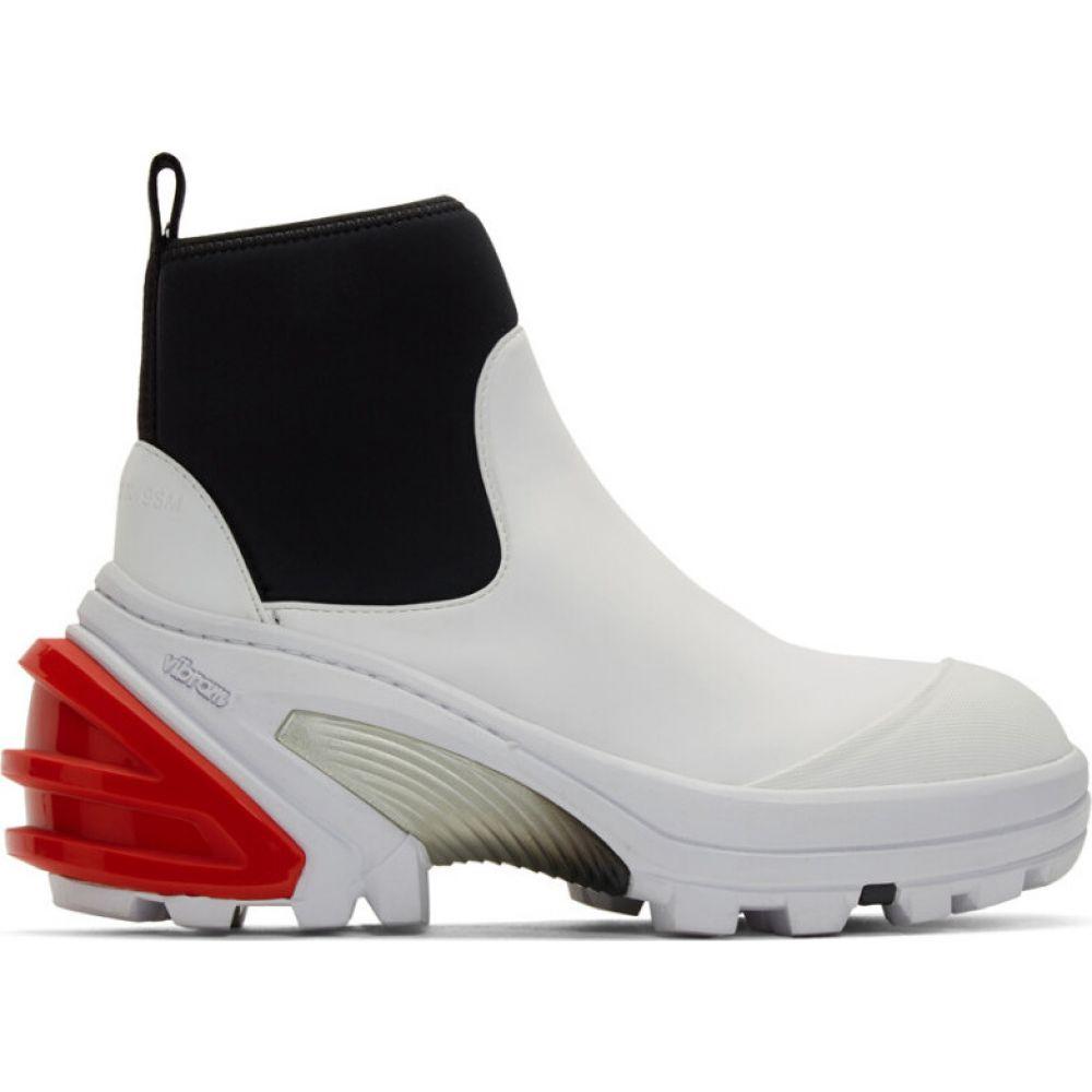 アリクス 1017 ALYX 9SM レディース ブーツ シューズ・靴【White Fixed Sole Mid Boots】White