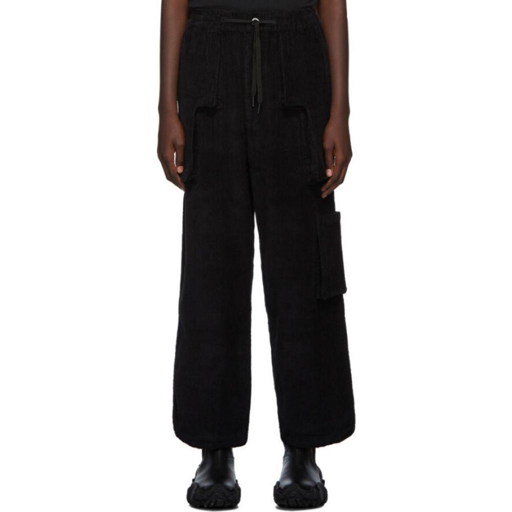 パークスアンドミニ Perks and Mini レディース ボトムス・パンツ 【Black B.T.C Return Corduroy Trousers】Black