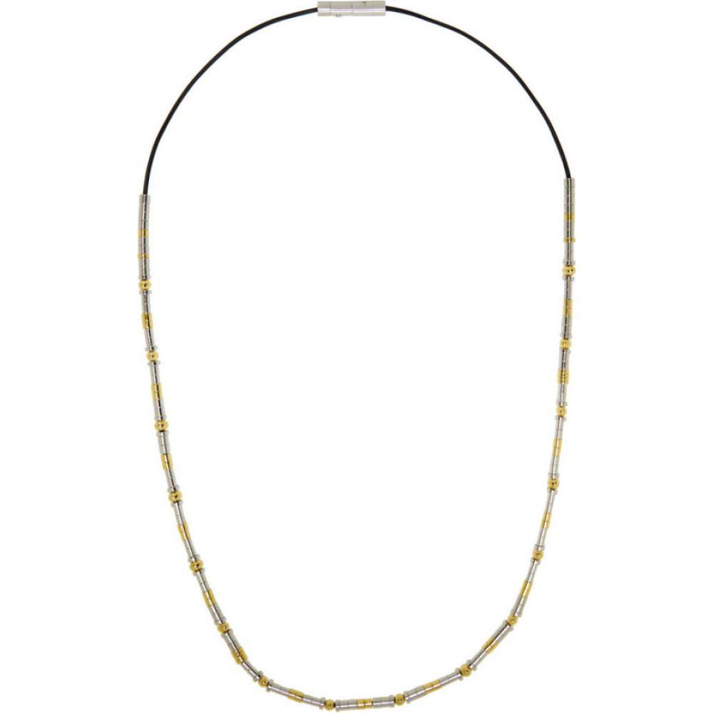 アンブッシュ Ambush メンズ ネックレス ジュエリー・アクセサリー【Silver Metal Beads Necklace】Silver