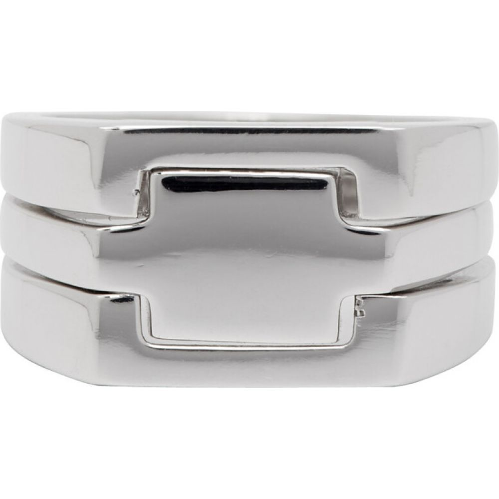アラン クロセッティ Alan Crocetti メンズ 指輪・リング ジュエリー・アクセサリー【Silver Puzzle Ring】