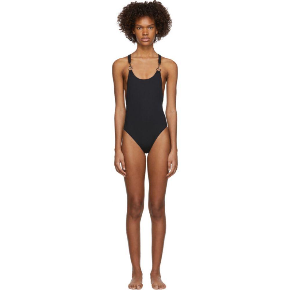 ルディ ガーンライヒ Rudi Gernreich レディース ワンピース 水着・ビーチウェア【Black Hardware One-Piece Swimsuit】Black