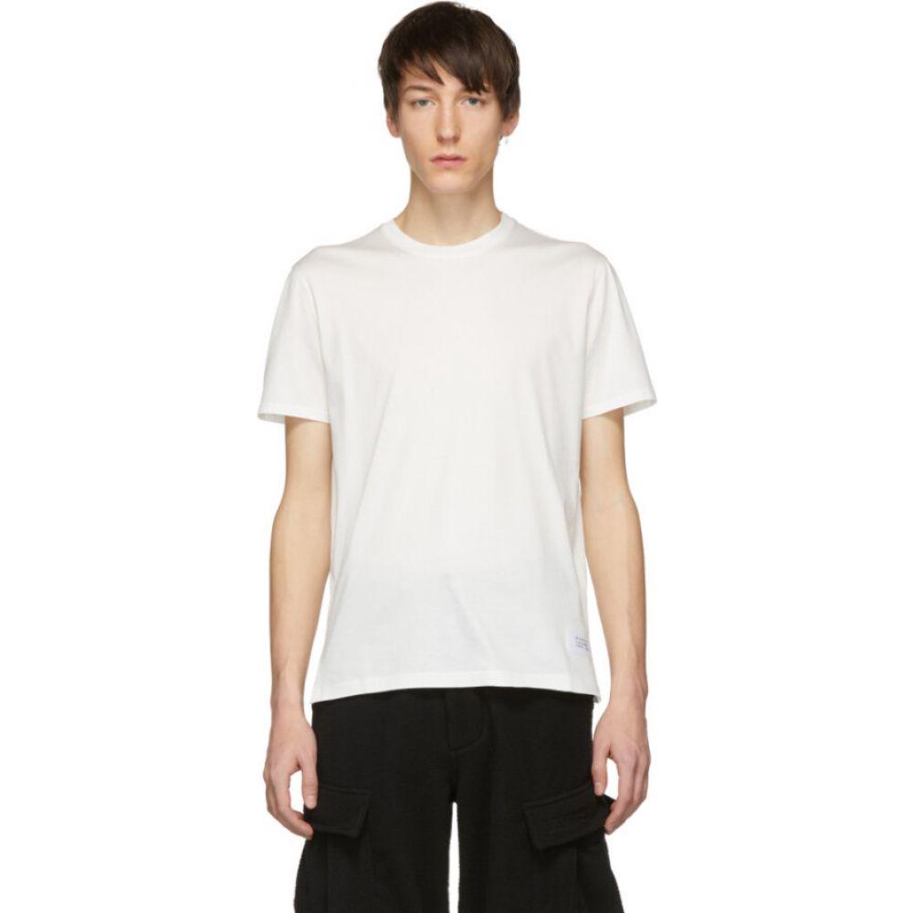 ジバンシー Givenchy メンズ Tシャツ トップス【White Atelier Patch T-Shirt】