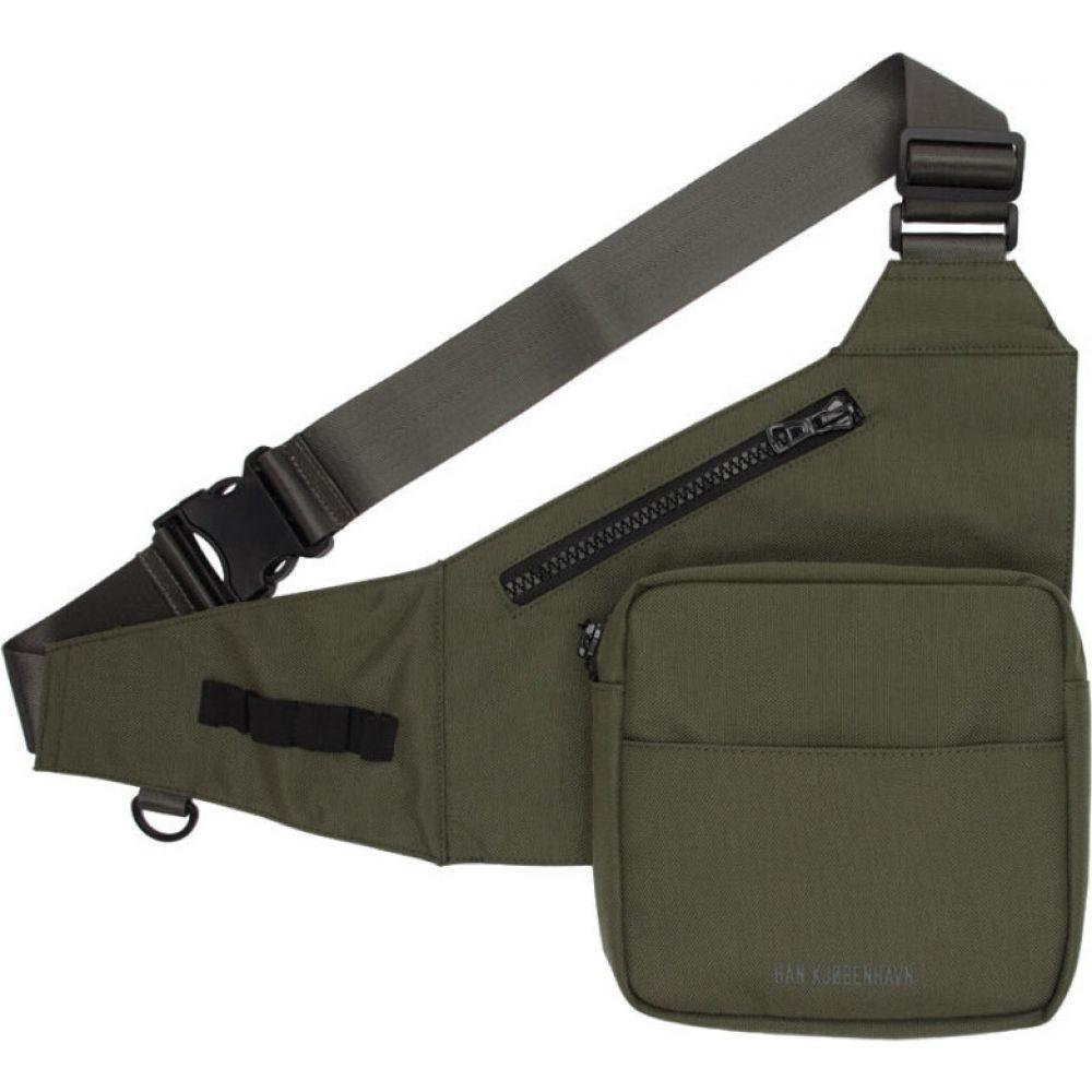 ハン コペンハーゲン Han Kjobenhavn メンズ メッセンジャーバッグ バッグ【Black Triangle Messenger Bag】Army