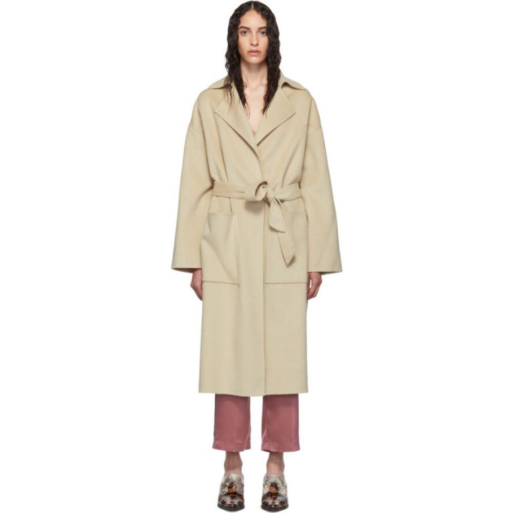 ナヌシュカ Nanushka レディース コート アウター【Beige Wool Alamo Coat】Stone
