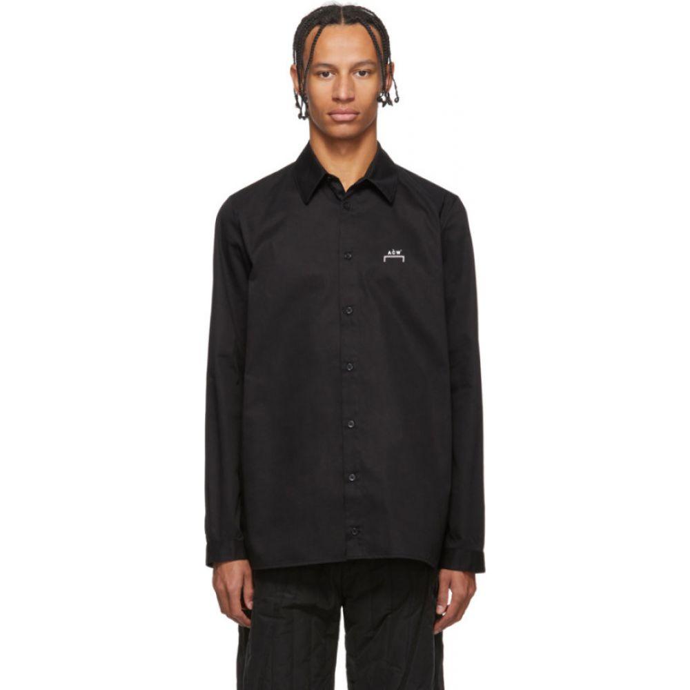アコールドウォール A-COLD-WALL* メンズ シャツ トップス【Black Core Logo Shirt】Black