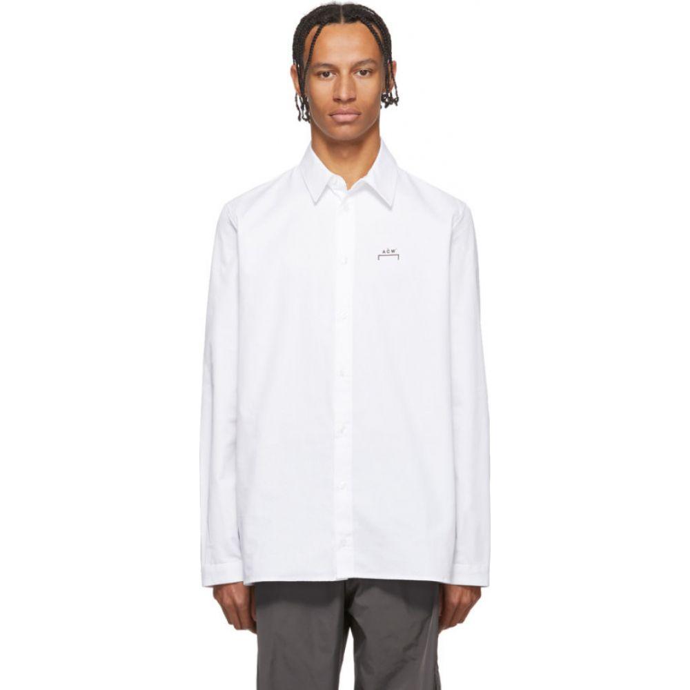 アコールドウォール A-COLD-WALL* メンズ シャツ トップス【White Core Logo Shirt】White