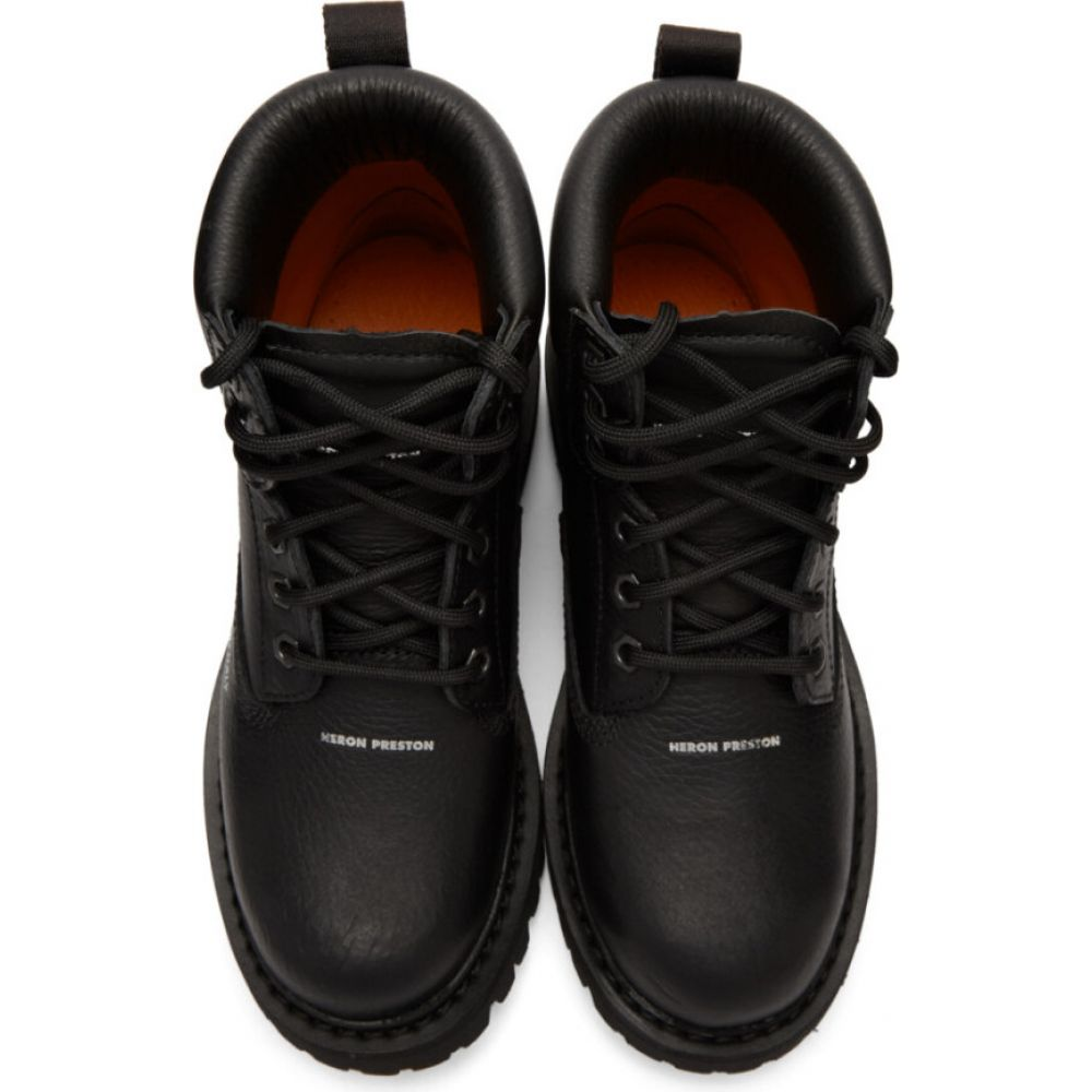 ヘロン プレストン Heron Preston レディース ブーツ シューズ・靴 Black Worker Boots Black no colorI6vbYf7gy