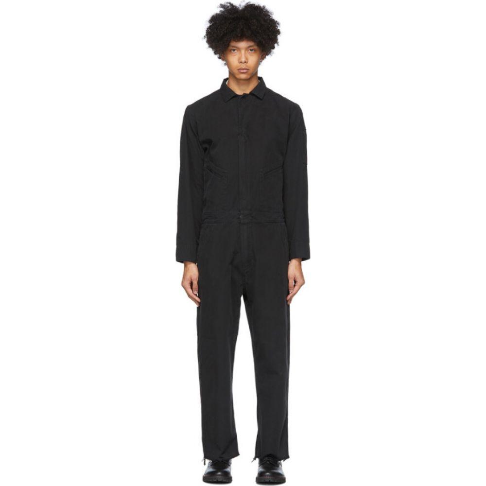 フォートゥーフォー 424 メンズ ツナギ・オールインワン ジャンプスーツ トップス【Black Logo Jumpsuit】Black