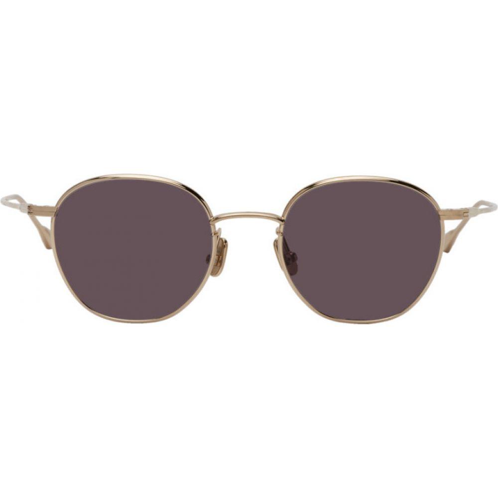 ネイティブ サンズ Native Sons メンズ メガネ・サングラス 【Gold & Grey Roy 47 Sunglasses】White gold
