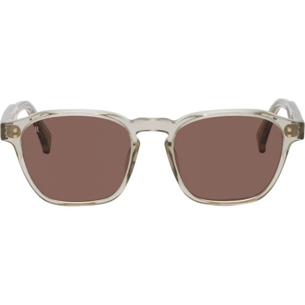 レーン RAEN メンズ メガネ・サングラス 【Grey Aren Sunglasses】Haze/Plum brown