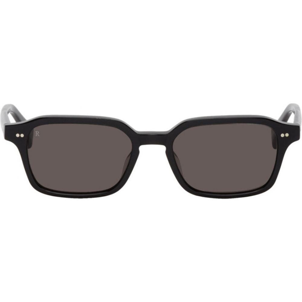 レーン RAEN メンズ メガネ・サングラス 【Black Boyd Sunglasses】Crystal black/Dark smoke