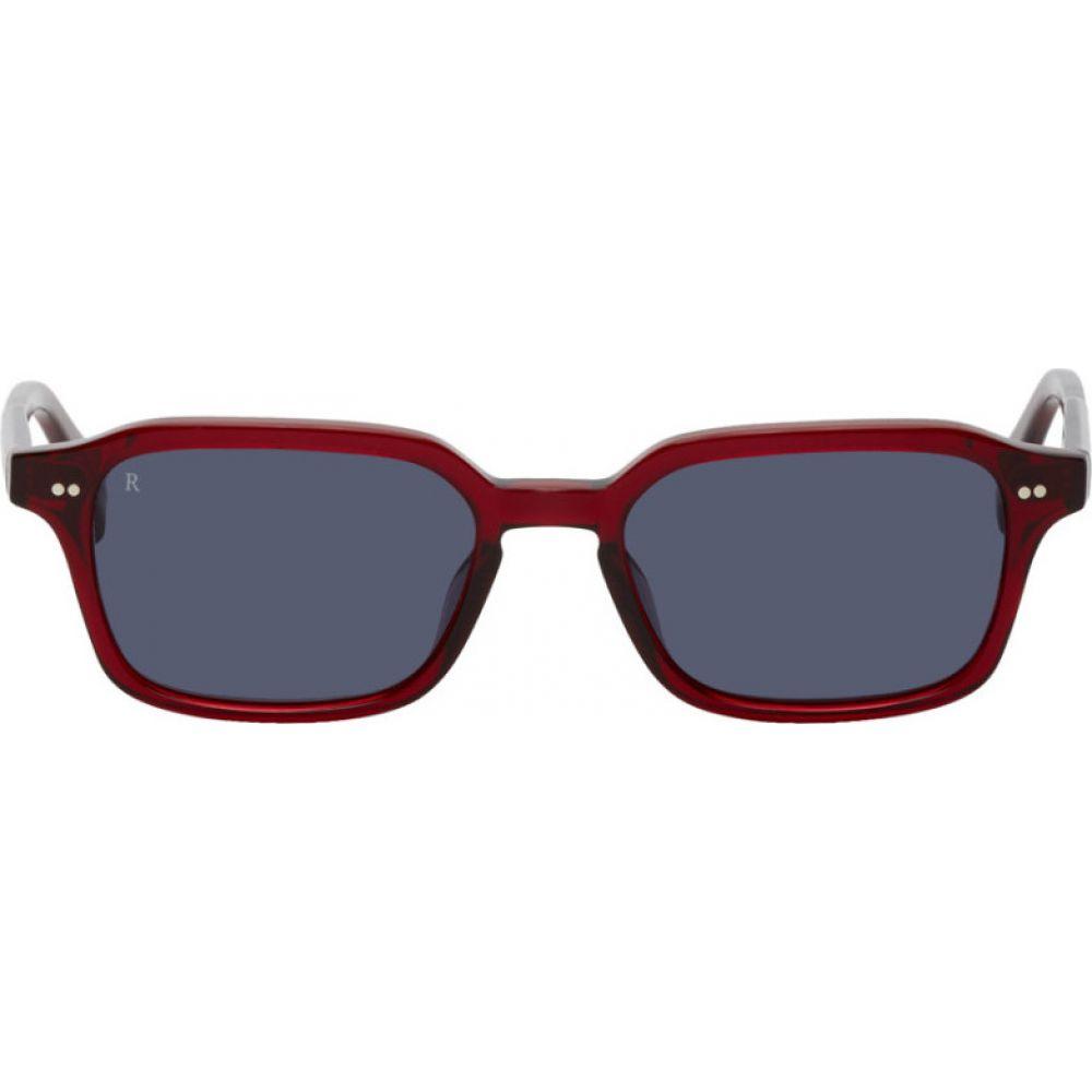 レーン RAEN メンズ メガネ・サングラス 【Red Boyd Sunglasses】Oxblood crystal/Indigo
