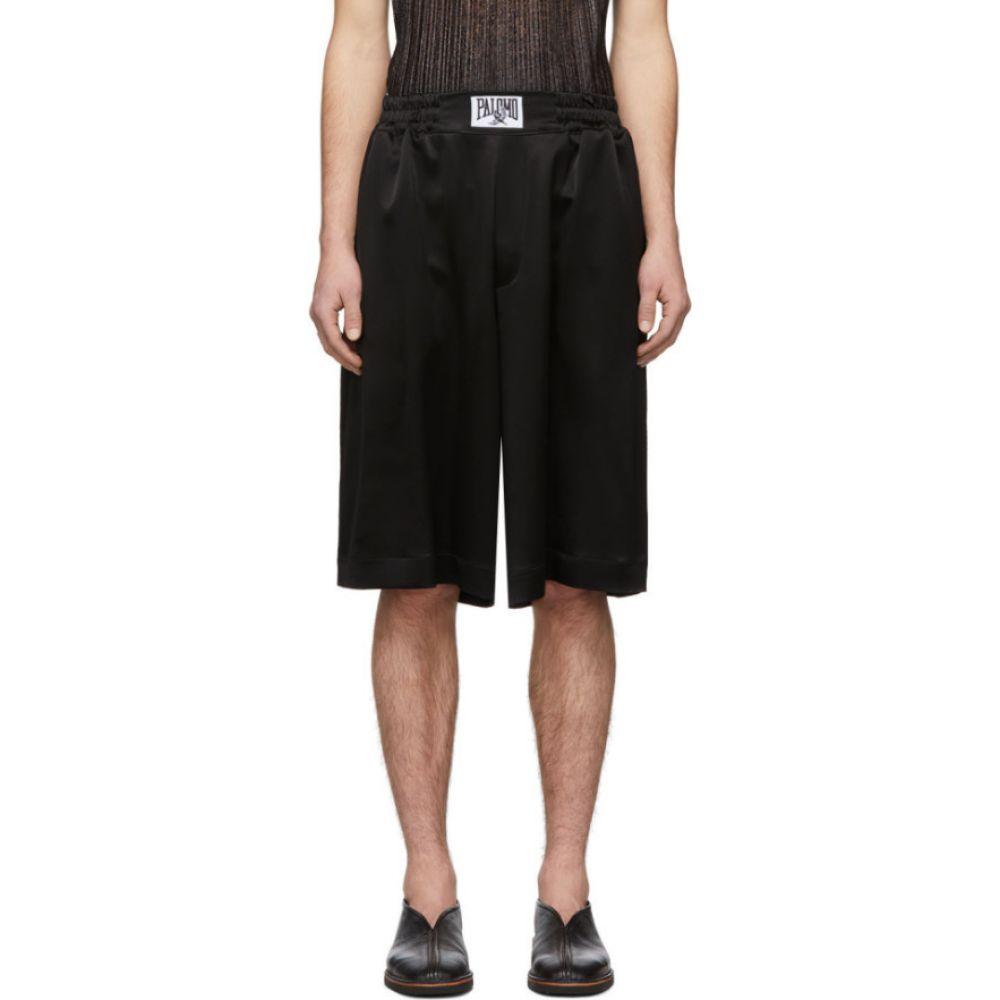 パロモ スペイン Palomo Spain メンズ ショートパンツ ボトムス・パンツ【Black Satin Shorts】Black