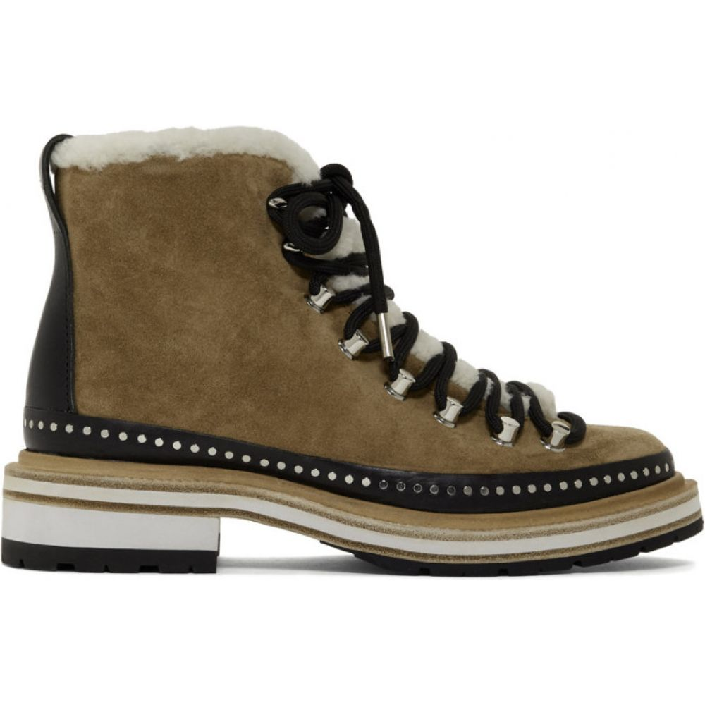 ラグ&ボーン rag & bone レディース ブーツ シューズ・靴【Tan Suede Compass Boots】Camel