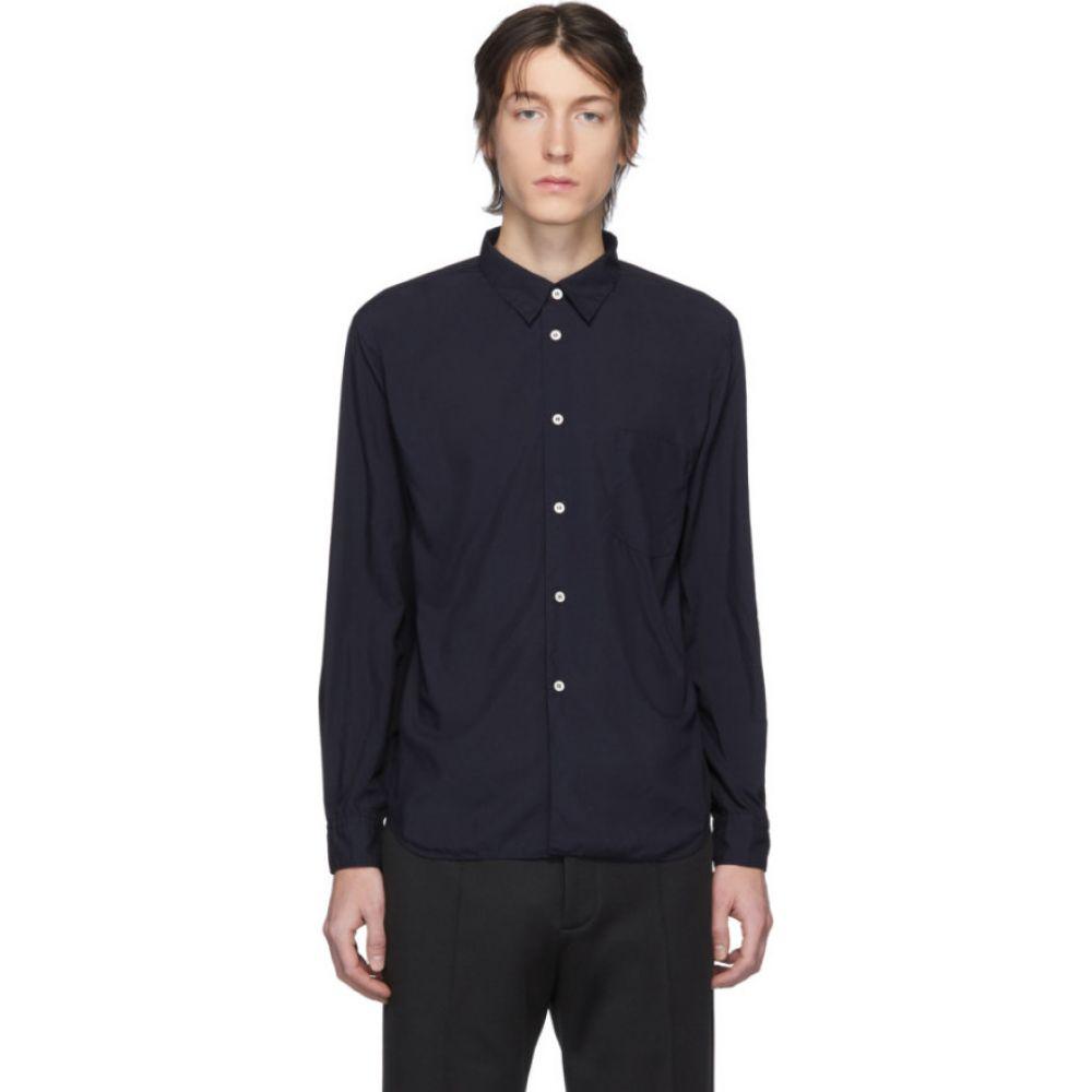 コム デ ギャルソン Comme des Garcons Homme Deux メンズ シャツ トップス【Navy Garment-Dyed Shirt】Navy