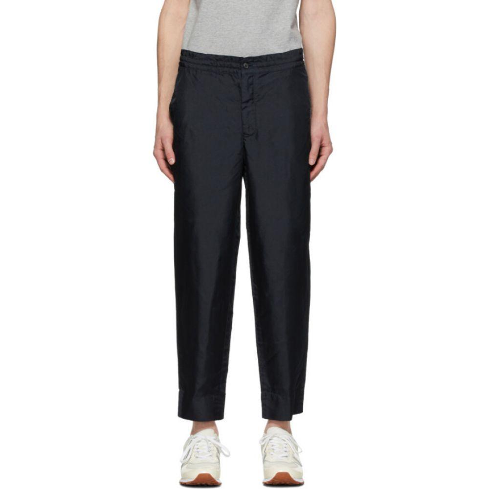 コム デ ギャルソン Comme des Garcons Homme Deux メンズ ボトムス・パンツ 【Navy Twill Garment-Dyed Trousers】Navy