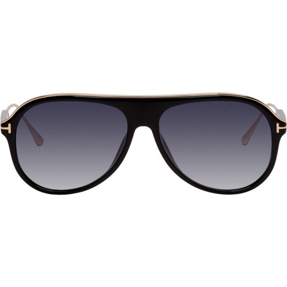 トム フォード Tom Ford メンズ メガネ・サングラス 【Black Nicholai Sunglasses】Black