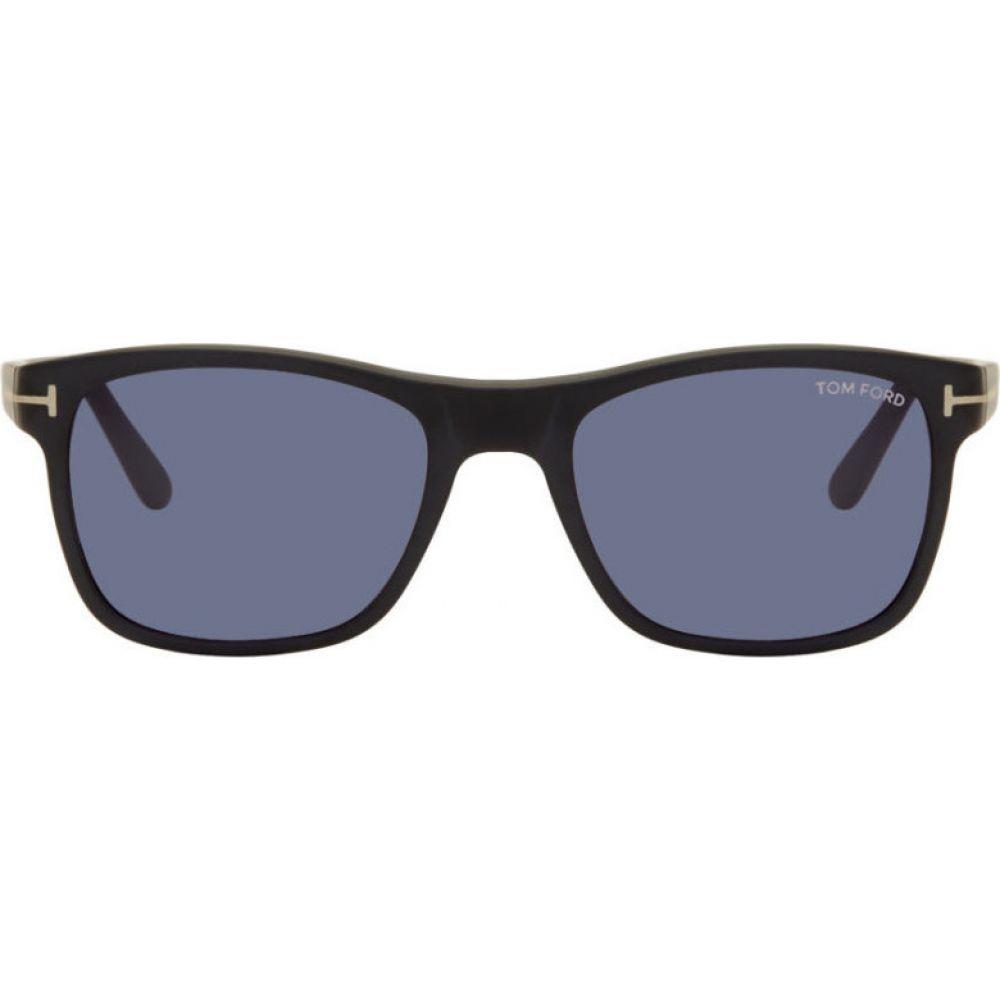 トム フォード Tom Ford メンズ メガネ・サングラス 【Black Giulio Sunglasses】Black