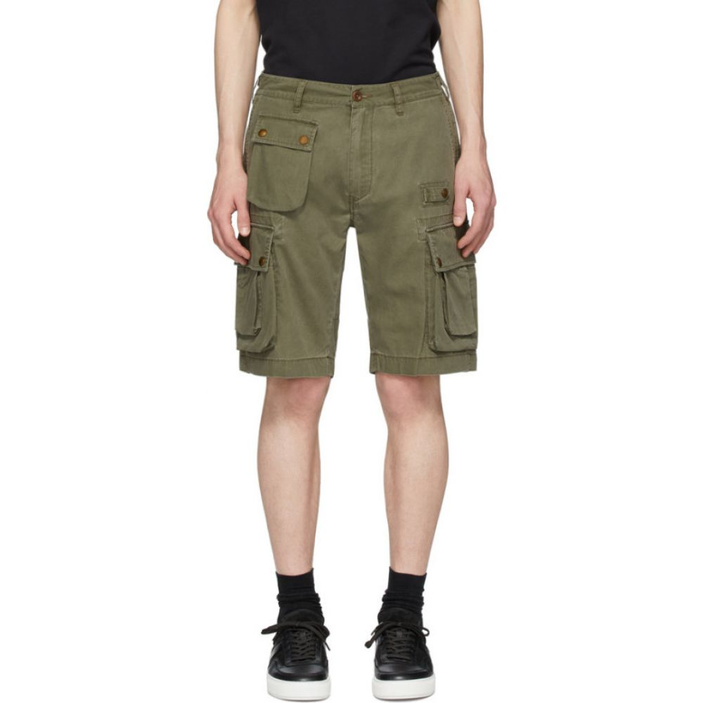 ベルスタッフ Belstaff メンズ ショートパンツ ボトムス・パンツ Green Castmaster Shorts Sage green2DH9WEI