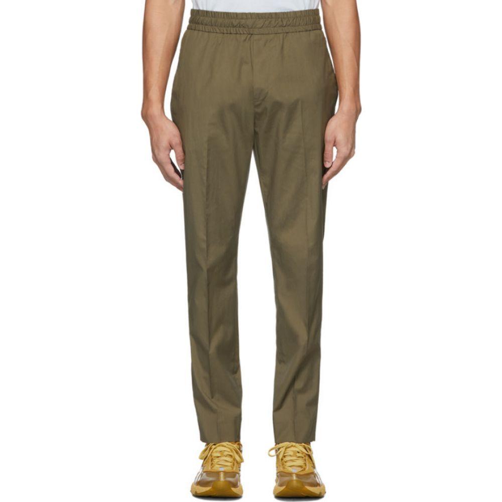 アクネ ストゥディオズ Acne Studios メンズ ボトムス・パンツ 【Khaki Cotton Ryder Trousers】Hunter green