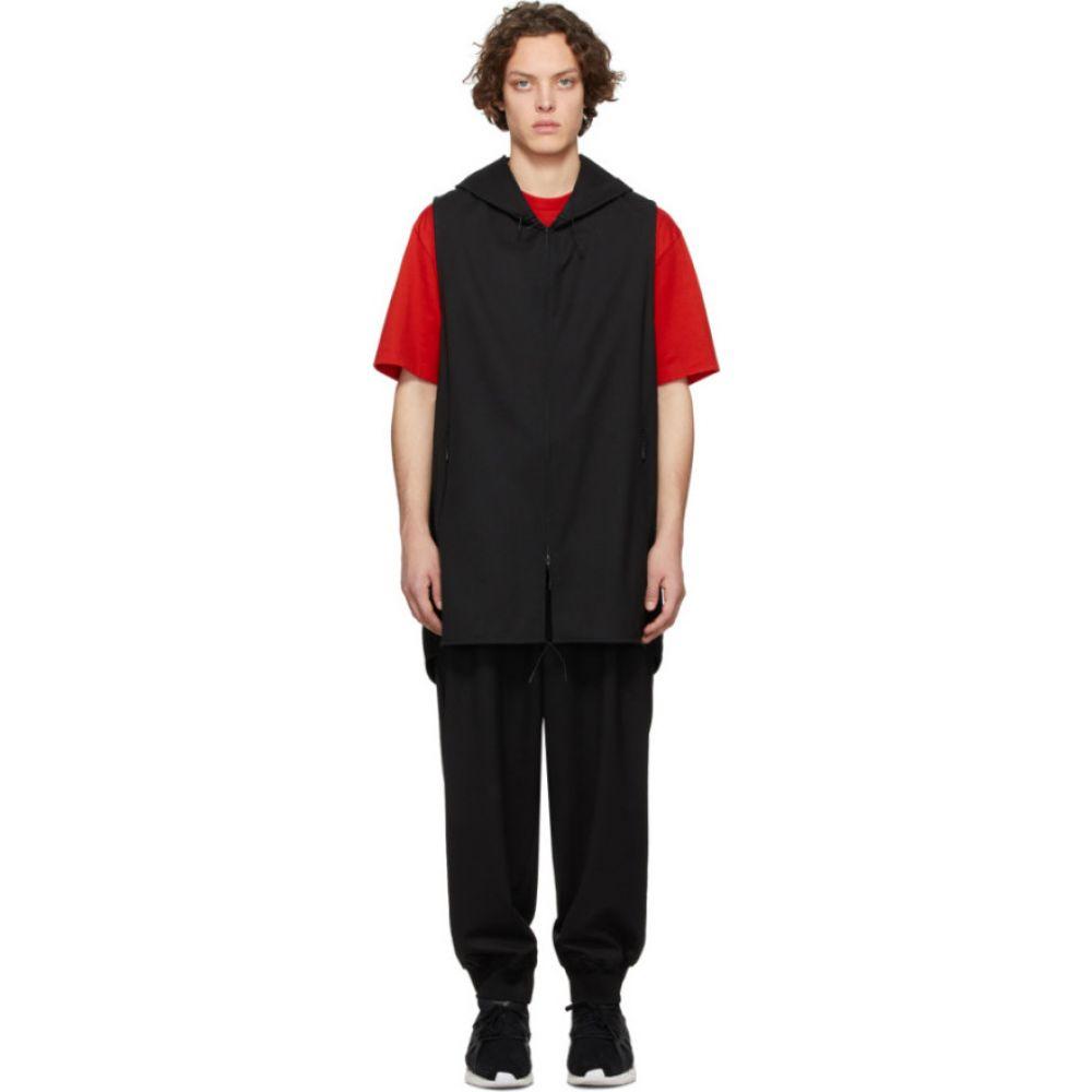 ワイスリー Y-3 メンズ ベスト・ジレ トップス【Black Craft 3-Stripes Hooded Vest】Black