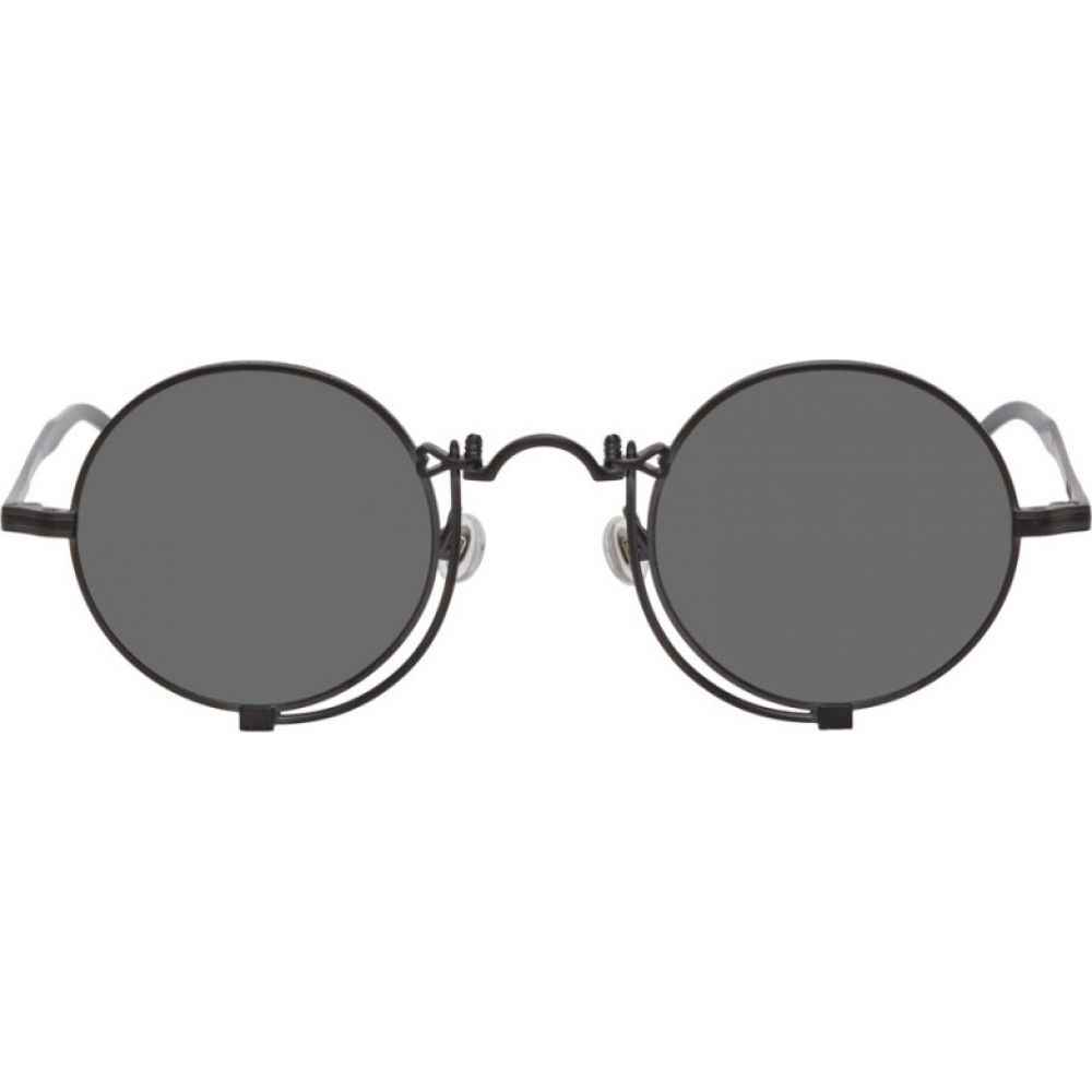 マツダ Matsuda メンズ メガネ・サングラス 【Black 10601H Sunglasses】Matte black