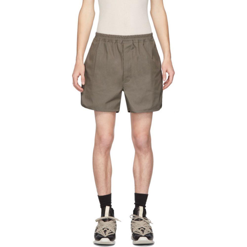 リック オウエンス Rick Owens メンズ ショートパンツ ボトムス・パンツ【Taupe Dolphin Shorts】Dust