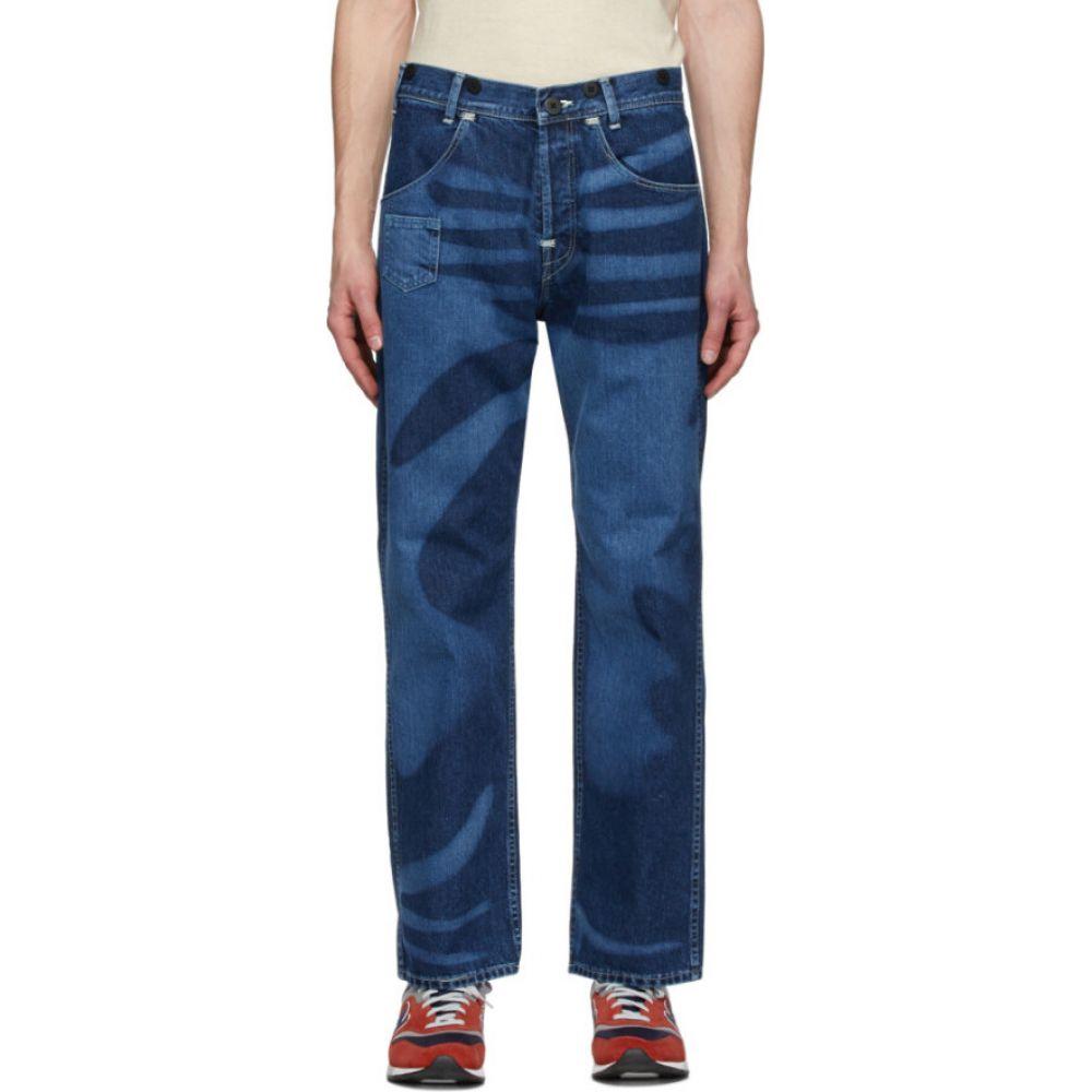 ジュンヤ ワタナベ Junya Watanabe メンズ ジーンズ・デニム ボトムス・パンツ【Indigo Levi's Edition Print Jeans】Indigo