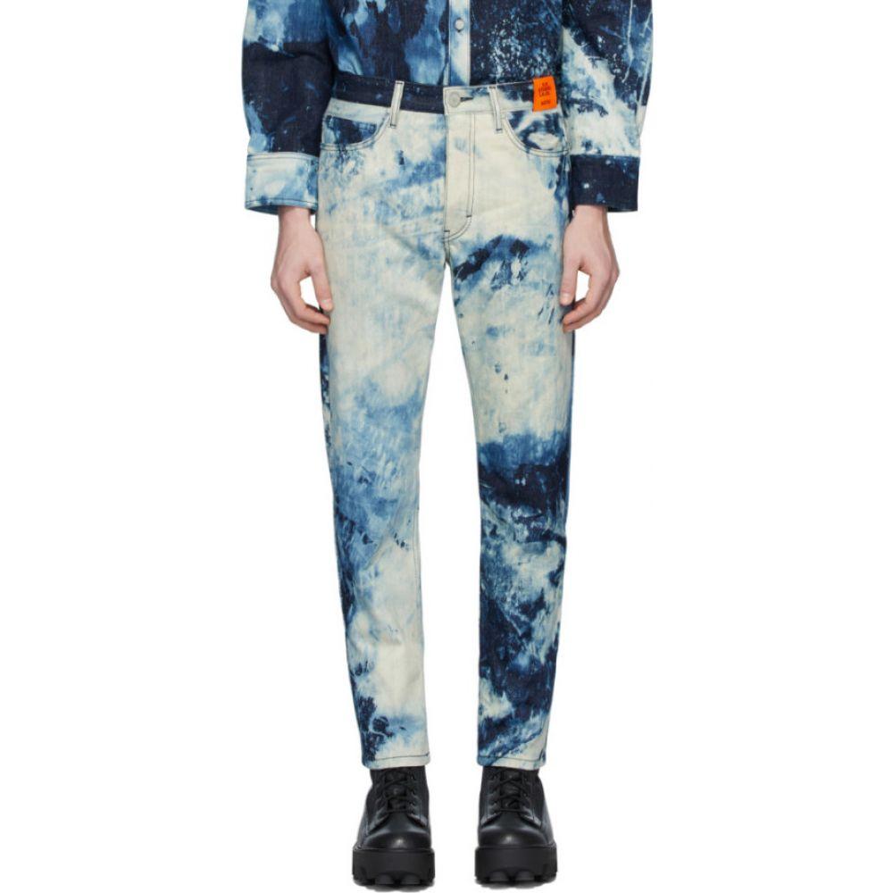S.R. スタジオ. LA. CA. S.R. STUDIO. LA. CA. メンズ ジーンズ・デニム ボトムス・パンツ【Indigo SOTO Hand-Bleached Denim C Jeans】Bleached indigo