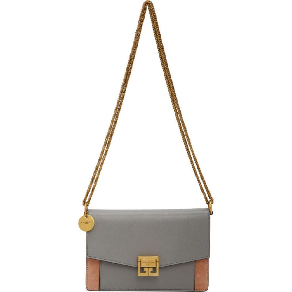 ジバンシー Givenchy レディース ショルダーバッグ バッグ【Grey & Pink Mini GV3 Bag】Grey/Pale pink