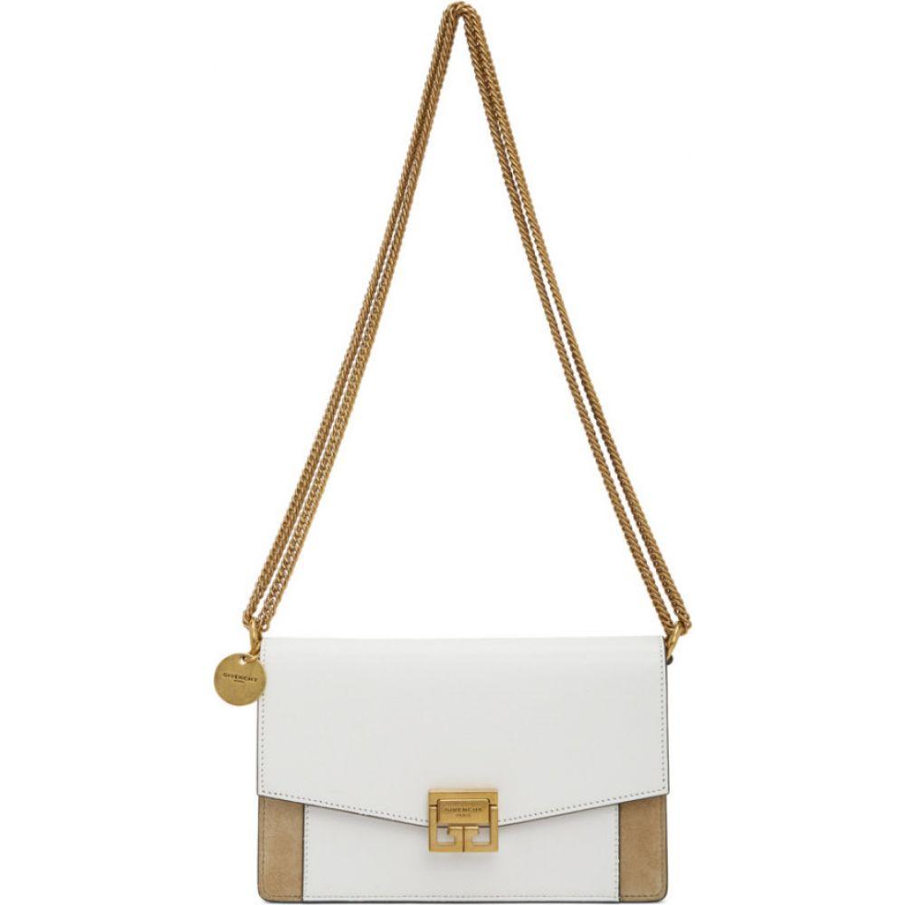 ジバンシー Givenchy レディース ショルダーバッグ バッグ【White & Beige Mini GV3 Bag】White/Beige