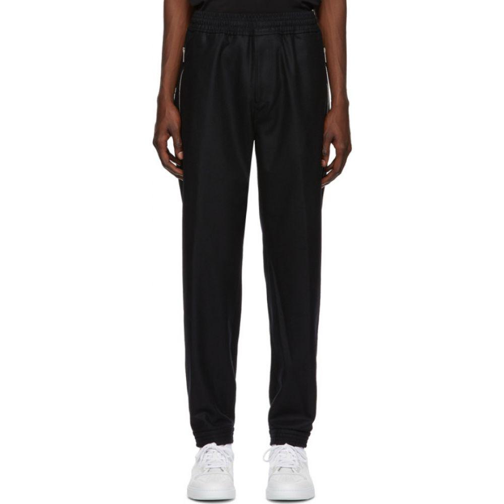ジバンシー Givenchy メンズ スウェット・ジャージ ボトムス・パンツ【Black Wool Lounge Pants】Black