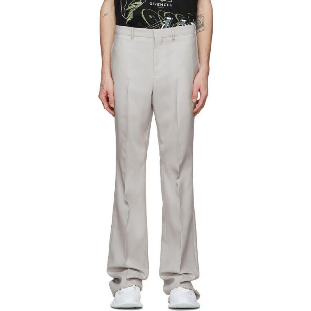 ジバンシー Givenchy メンズ ボトムス・パンツ ブーツカット【Off-White Bootcut Tailored Trousers】Pearl grey