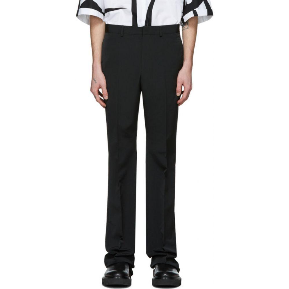 ジバンシー Givenchy メンズ スラックス ブーツカット ボトムス・パンツ【Black Bootcut Tailored Trousers】Black