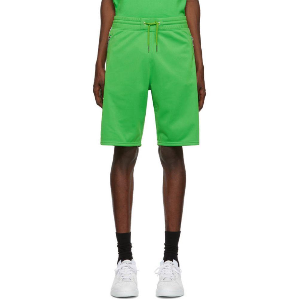 ジバンシー Givenchy メンズ ショートパンツ ボトムス・パンツ【Green Logo Tape Shorts】Green