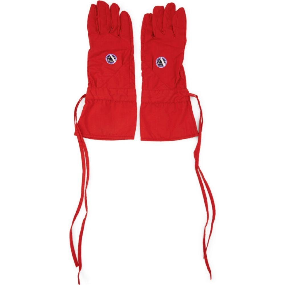 ラフ シモンズ Raf Simons メンズ 手袋・グローブ 【Red Labo Gloves】Red