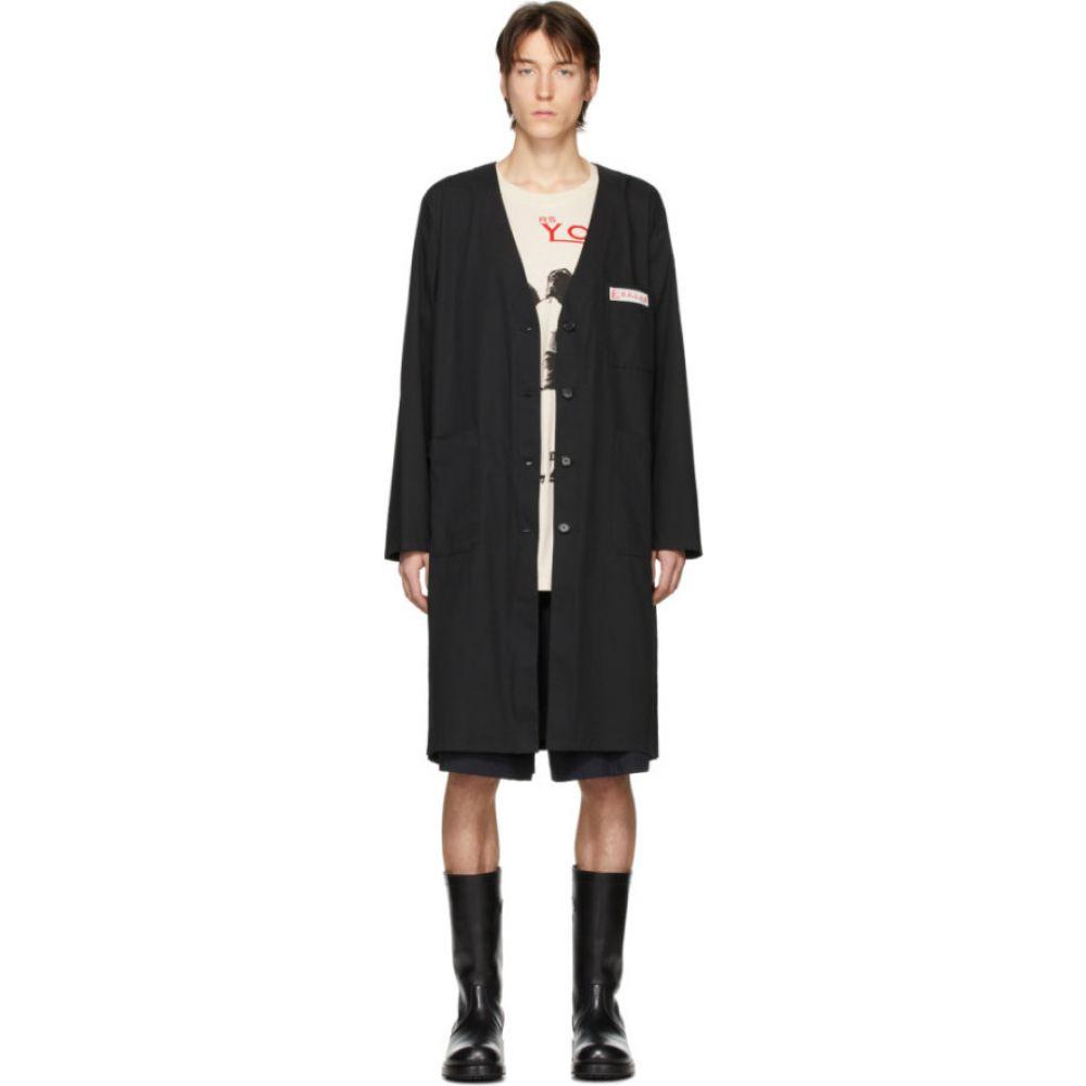 ラフ シモンズ Raf Simons メンズ コート アウター【Black Classic Labo Coat】Black