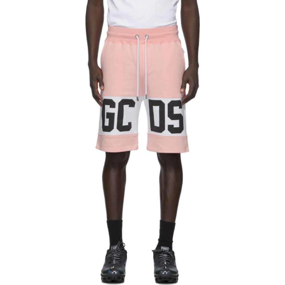 ジーシーディーエス GCDS メンズ ショートパンツ バミューダ ボトムス・パンツ【Pink Band Logo Bermuda Shorts】Pink