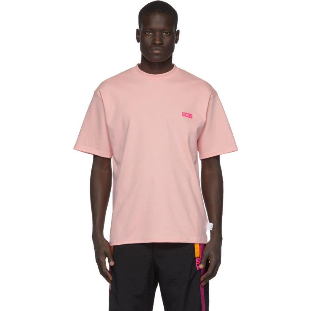 ジーシーディーエス GCDS メンズ Tシャツ トップス【Pink Basic T-Shirt】Pink