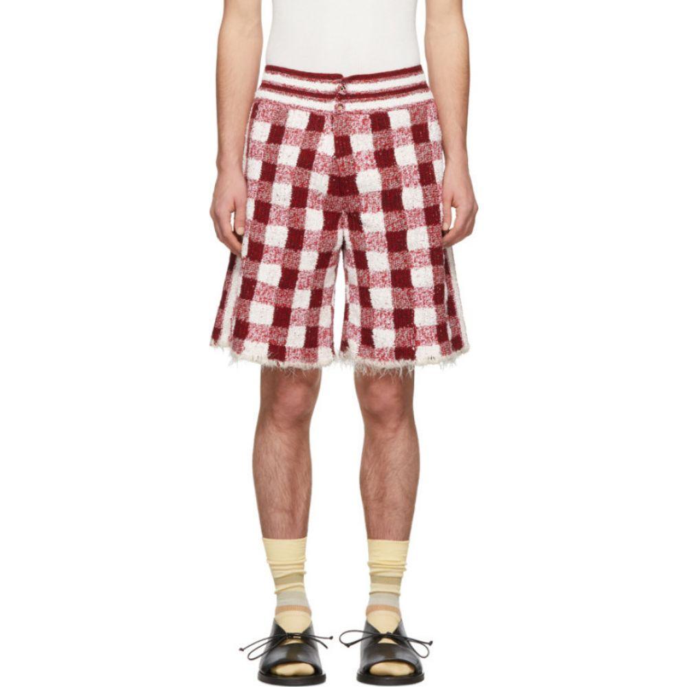 ジュディ ターナー Judy Turner メンズ ショートパンツ ボトムス・パンツ【Red & White Crochet Dean Shorts】Red/White