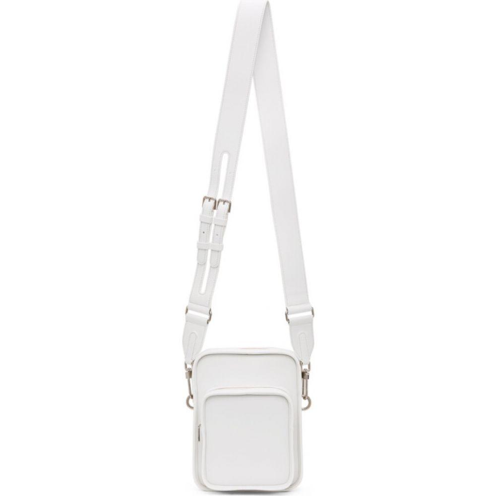 バレード Byredo レディース ショルダーバッグ バッグ【White Medium Focus Shoulder Bag】White