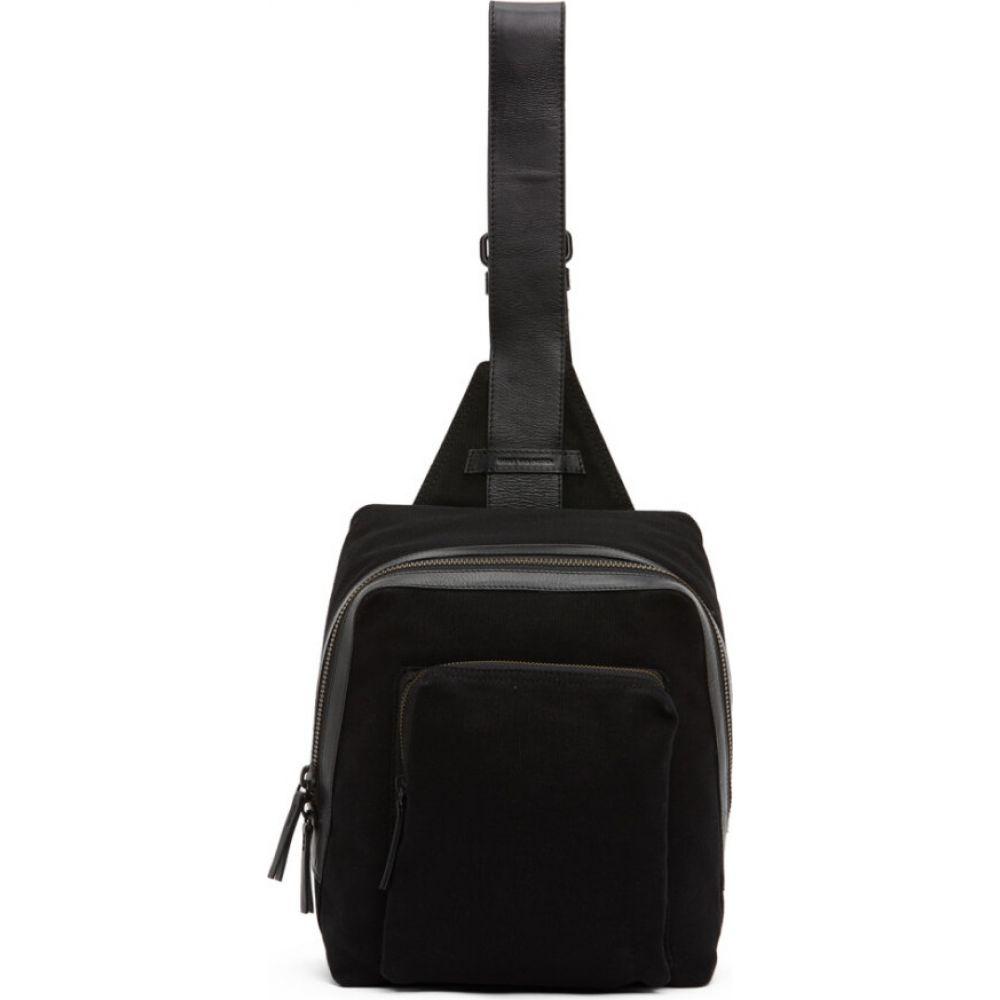 ドリス ヴァン ノッテン Dries Van Noten メンズ メッセンジャーバッグ バッグ【Black Textile Messenger Bag】Black